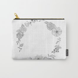 A circle of flowers Carry-All Pouch