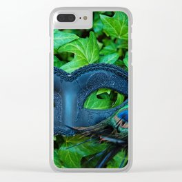 Vevetian Ivy Clear iPhone Case