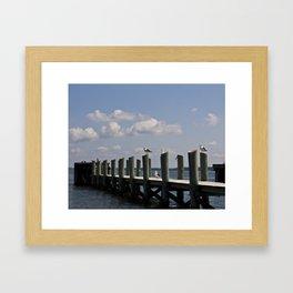 Piers Framed Art Print
