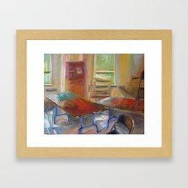 Light Room Framed Art Print