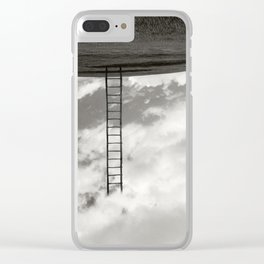 Heaven is here on Earth Clear iPhone Case