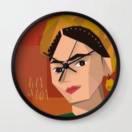 Frida Khalo Cubism Edition 2 Wall Clock