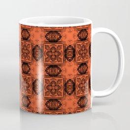 Flame Geometric Floral Coffee Mug