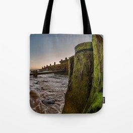 Seaside at sunrise Tote Bag