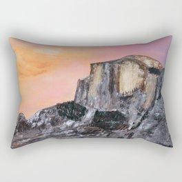 Yosemite Oil Painting Rectangular Pillow