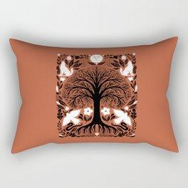 midnight forest moon Rectangular Pillow