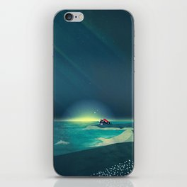 House by the Sea iPhone Skin