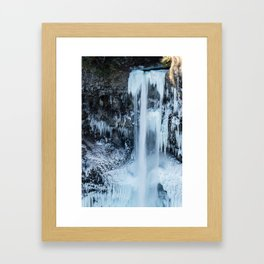 Some things are worth freezing for Framed Art Print