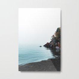 Lake Superior Black Sand Beach Metal Print