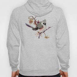 Bird Titmouse, nursery design, children room bird design bird lover Hoody