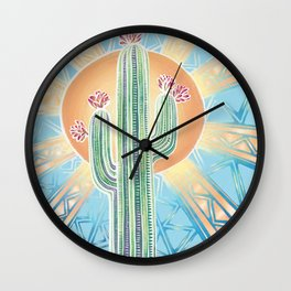 Midday Sun Wall Clock