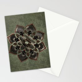 Wonderful noble mandala design Stationery Cards
