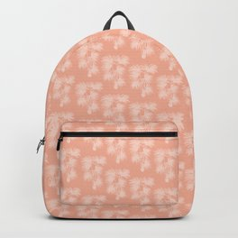 Palm Silhouette | Peachy Pink Backpack