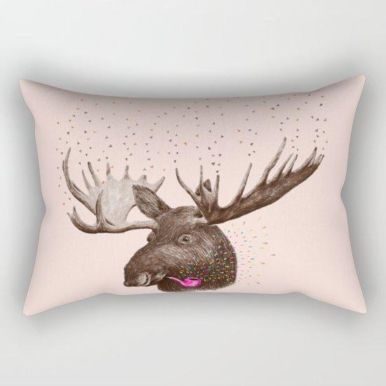 Moose III Rectangular Pillow