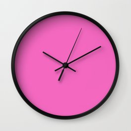 Raspberry Pink Sorbet Ice Cream Gelato Ices Wall Clock