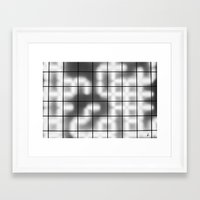 numbers Framed Art Prints featuring Numbers by Sofia_Katsikadi