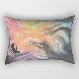 colourful sky dive Rectangular Pillow