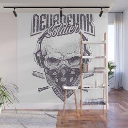Neurofunk Soldier Wall Mural