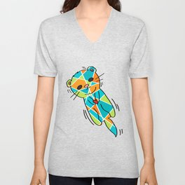 There's No Otter Like You - Cute Loving Otter - 57 Montgomery Ave Unisex V-Neck