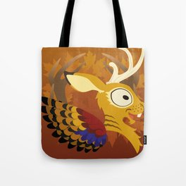 Silly Bestiary: Wolpertinger Tote Bag