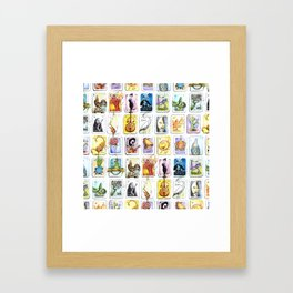 Mexican Lottery Framed Art Print