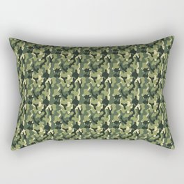 Army military pattern Rectangular Pillow