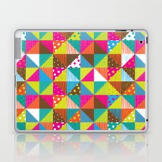 Crazy Squares Laptop & iPad Skin