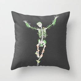 I Don't Care, I'm Dead Throw Pillow