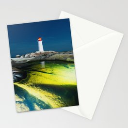 Light Rises Stationery Cards
