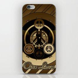 One Love (Brown) iPhone Skin