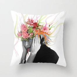 Familiar Feeling Throw Pillow