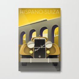 Hispano-Suiza Metal Print