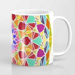 bright fractal mandala Coffee Mug