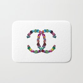 Precious Diamonds Bath Mat