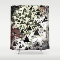 milk Shower Curtains featuring milk teeth by Rafael Igualada