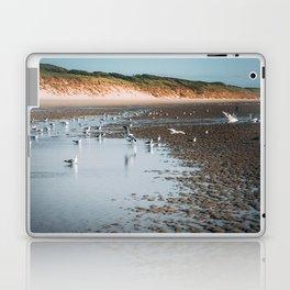 Low tide beach Laptop & iPad Skin