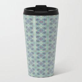 Butterfly Semi-Plaid Travel Mug