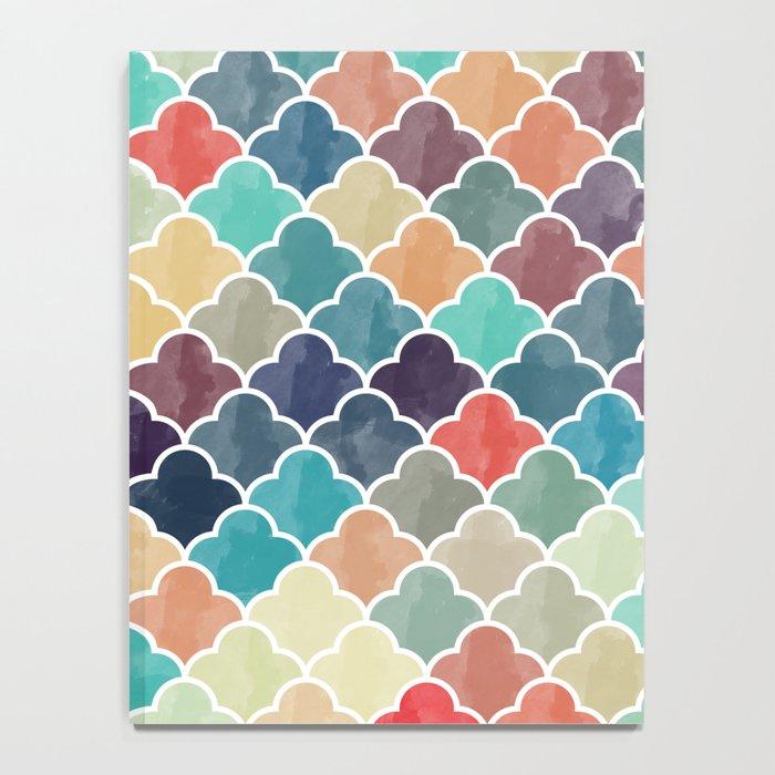 Watercolor Lovely Pattern VVXI Notebook