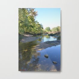 Where Canoes and Raccoon Go Series, No. 24 Metal Print