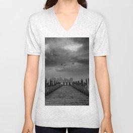 Liberty Island Unisex V-Neck