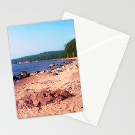 Summer Shores of Lake Superior Stationery Cards