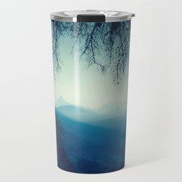 Blue Mountain Morning Travel Mug