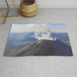 Karymsky Volcano Rug