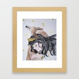 The Fawn Princess Framed Art Print