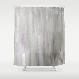Lavender & Silver Shower Curtain