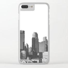 Minneapolis Minnesota Clear iPhone Case