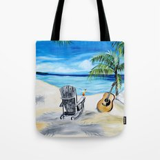 Beach Time with Martin Tote Bag