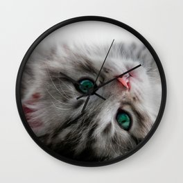 Just Woke Up Wall Clock