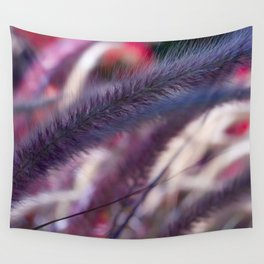 seed stalks of grass Wall Tapestry