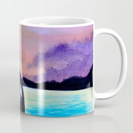 Orca Sunset Coffee Mug